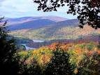 view of Hudson River from Catskill Mountains