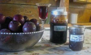Plum wine, Plum Lekvar and Plum Jam